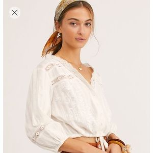 Free People Follow your heart top size S NWT